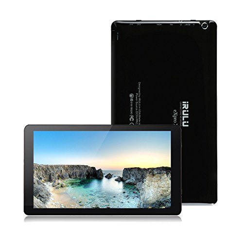 iRULU eXpro2 Plus Phablet (X2 Plus) 10.1 Zoll Android 5.1 Tablet PC Octa-Core 1.8GHz 1024 * 600 Display1GB RAM 16GB ROM Dual Kameras,Wifi Bluetooth Mini HDMI Full HD GMS Certified (Schwarz)