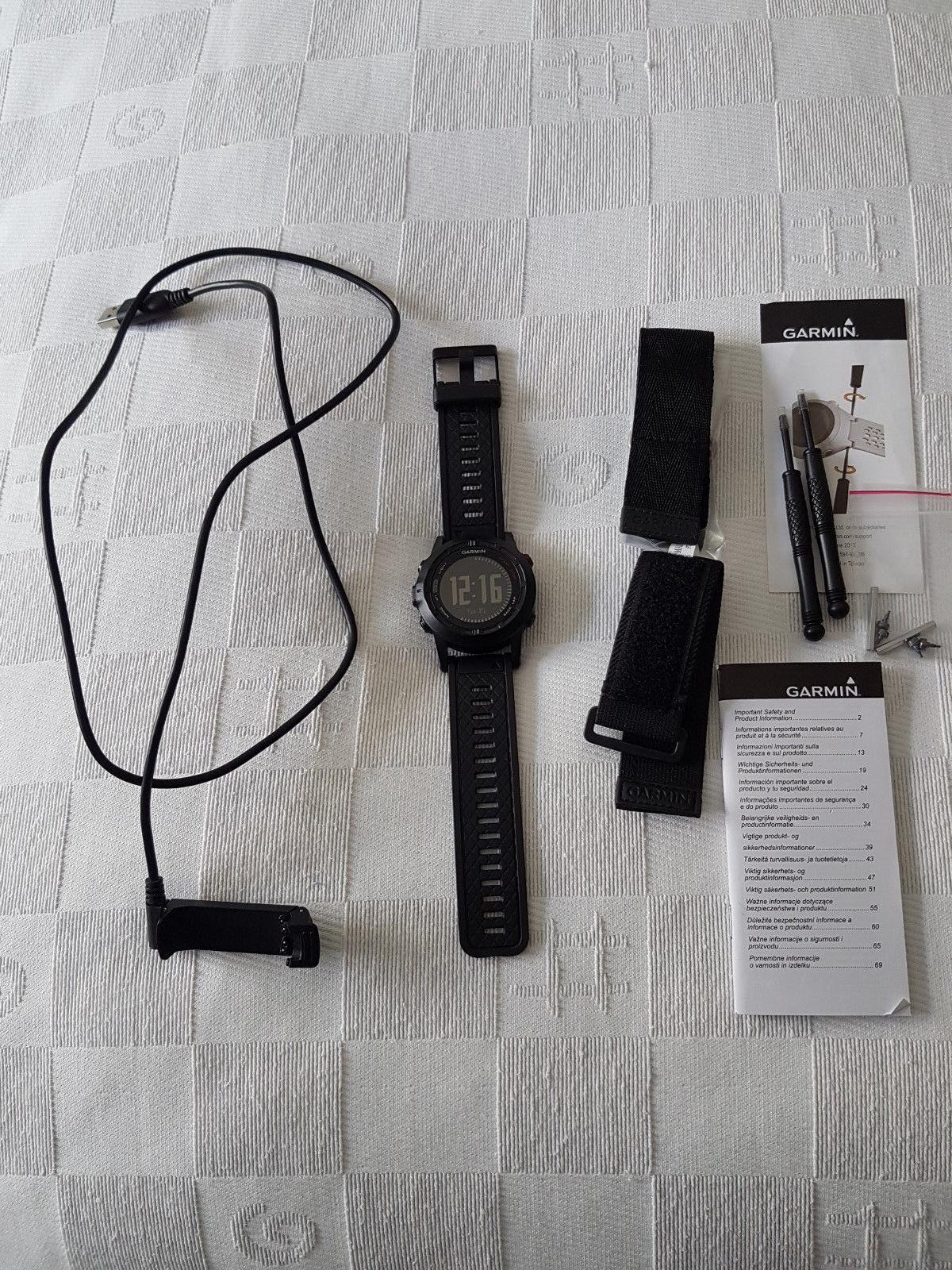 Garmin Fenix 2 Multisport GPS-Uhr Top-Zustand