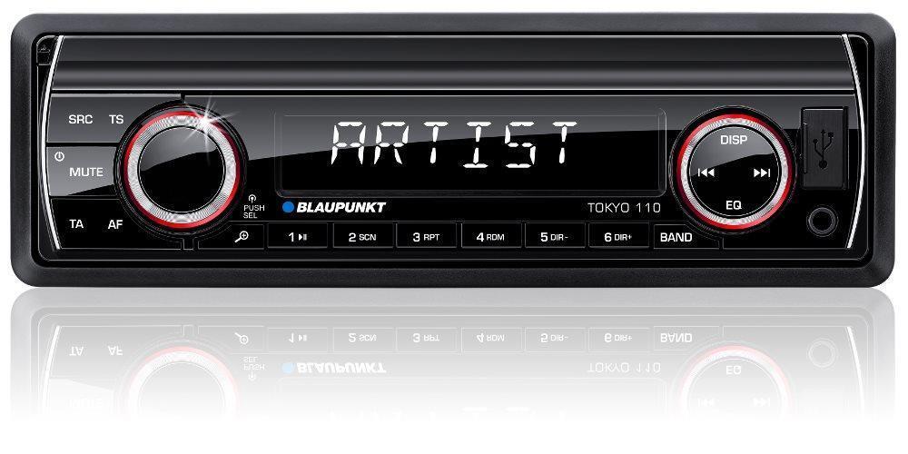 Autoradio Car Radio Player SD USB MP3 FM AUX DIN 4x 50 Watt Blaupunkt Tokyo