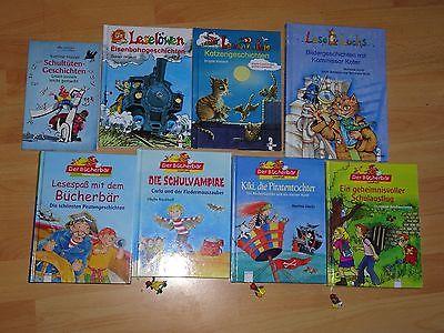 8x Erstlesebücher ab ca. 6 Jahren (2.Klasse), Leselöwen, Lese Luchs, Bücherbär..