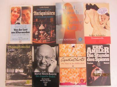 136 Bücher Taschenbücher Fischer Verlag