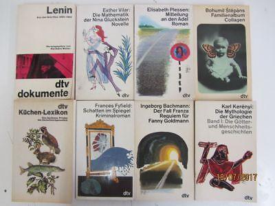 108 Bücher Taschenbücher weiße dtv Taschenbücher dtv Verlag