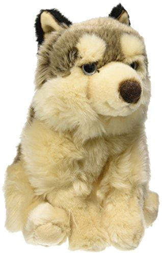 LELLY 26cm sitzend Little Wolf Stofftier (braun)