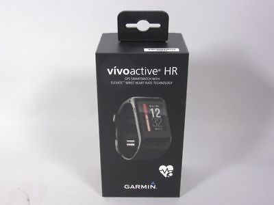 Garmin vivoactive HR Fitnesstracker, GPS Smartwatch + OVP  NEU  5T2387