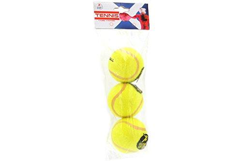 Globo Toys Globo–368496,3cm Sommer Güteklasse A Tennisbälle (3-teilig)