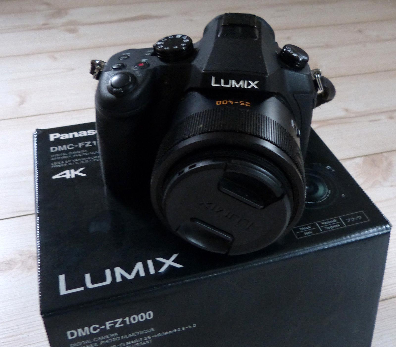 Panasonic LUMIX DMC-FZ1000 20.1 MP Digitalkamera +extras ( manfrotto tripod u.a)