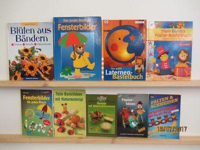 80 Bücher Hefte Basteln Bastelbücher Windowclor Origami Naturbasteln