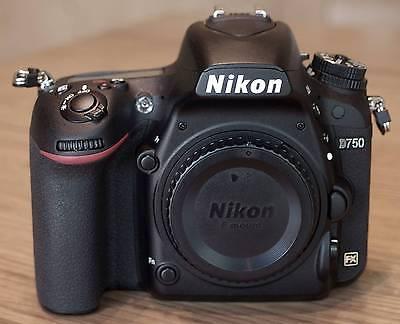 Nikon D750 Body, 01/2017, nur 177 Auslösungen, EU-Ware, wie neu!