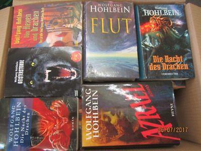 Wolfgang Hohlbein 46 Romane Fantasyromane historische Romane Horrorromane
