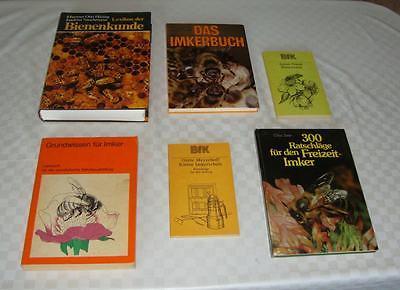 DDR Büchersammlung Imkerei-Bienenkunde (6 Bücher)