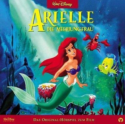 Hörspiel Arielle Die Meerjungfrau CD Disney Kinder Geschichte Lieder Musik Hören