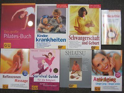 54 Bücher Softcover GU Ratgeber Gesundheit Medizin Naturheilkunde Gräfe+ Unzer