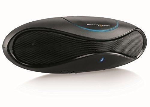MobileSounds ® Ellipse 2 tragbarer All-in-One Bluetooth ® Lautsprecher mit Radio und NFC (Farbe: Black Pearl)