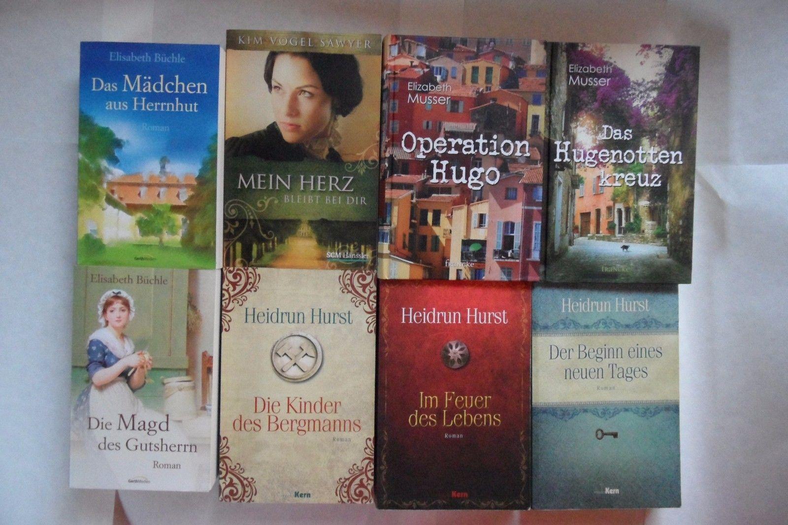 christliche Romane, Bücherpaket