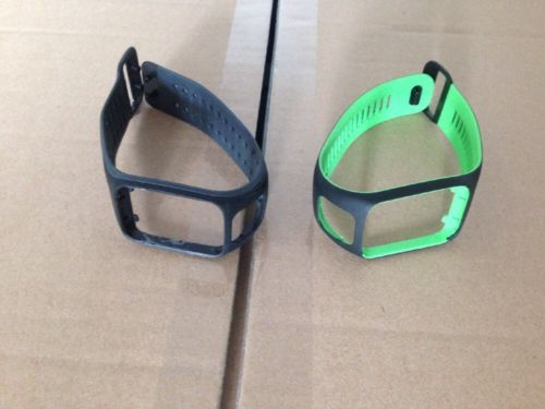 2x Tomtom Armband Runner 2 / 3 Adventurer Wechselarmband Armbänder Gr L Tom Tom