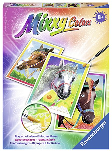 Ravensburger Mixxy Colors 29343 - Pferde, Malsets