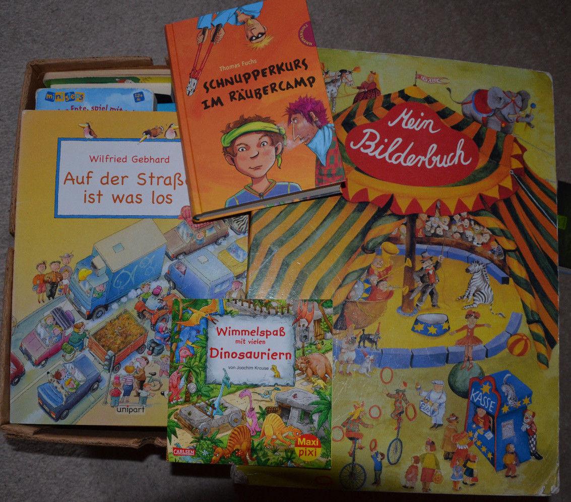 Tolles Paket mit 64 tollen Kinderbücher, Polizei, Feuerwehr, Wimmelbuch uvm