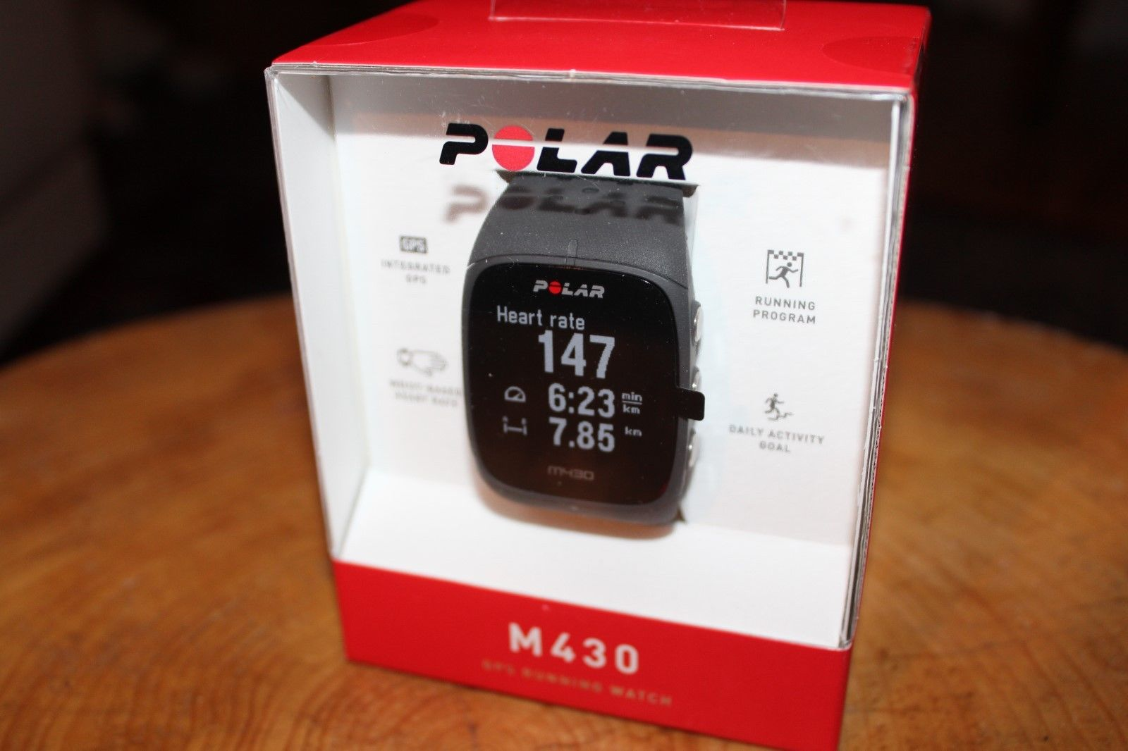 Polar M430 GPS running watch NEU OVP