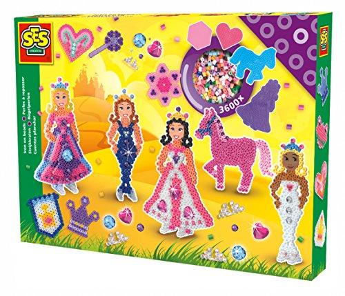 SES Deutschland 06071 - Bügelperlenset Prinzessinnen