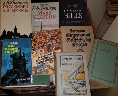 Bücherpaket!! 1.und 2. Weltkrieg,50 Stück, Sammlung,Deutsches Reich,Krieg 30KG#4