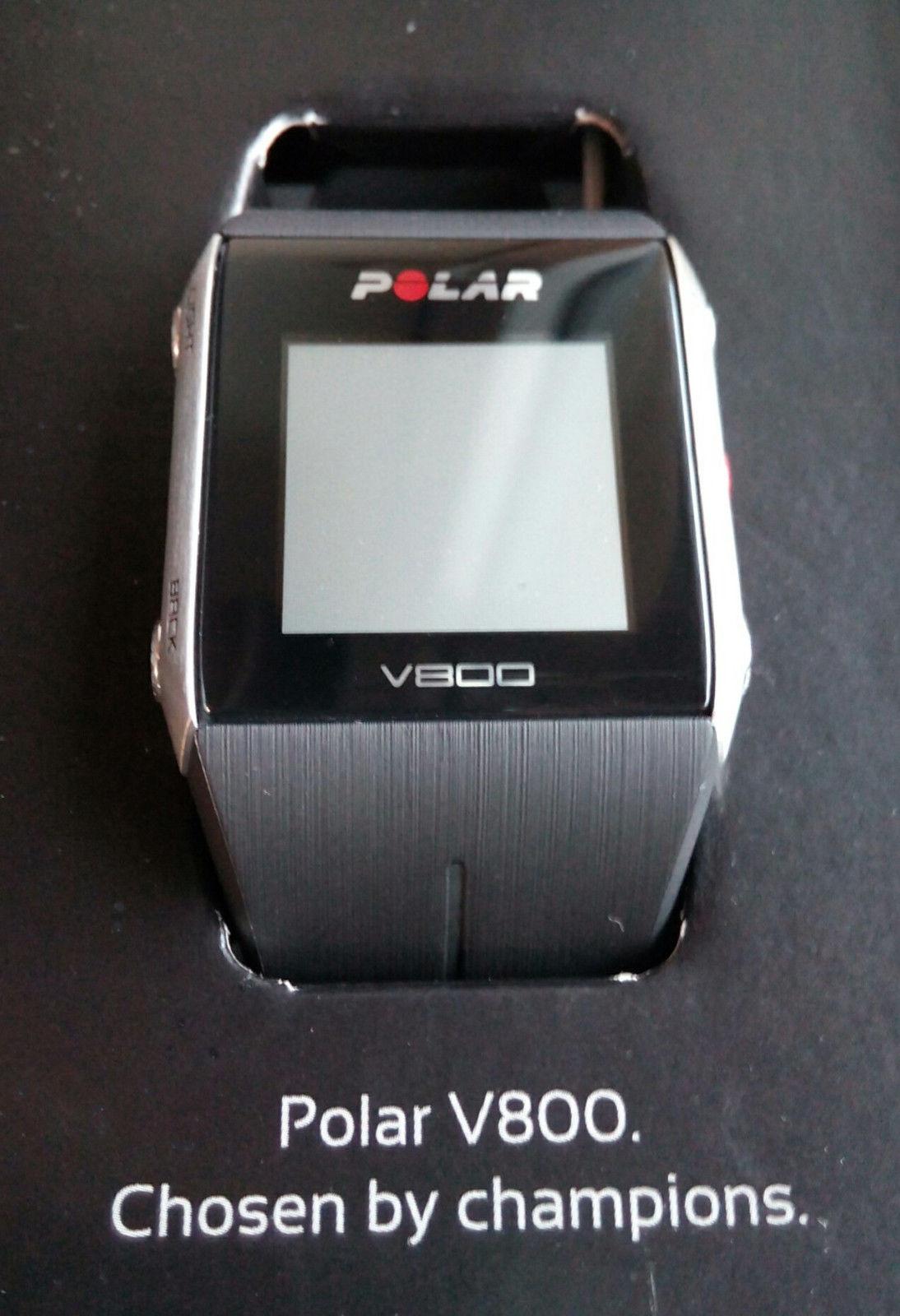 Polar V800 GPS incl. H7, neuer Elektrodengurt, neues Ladekabel - TOP Zustand!!!