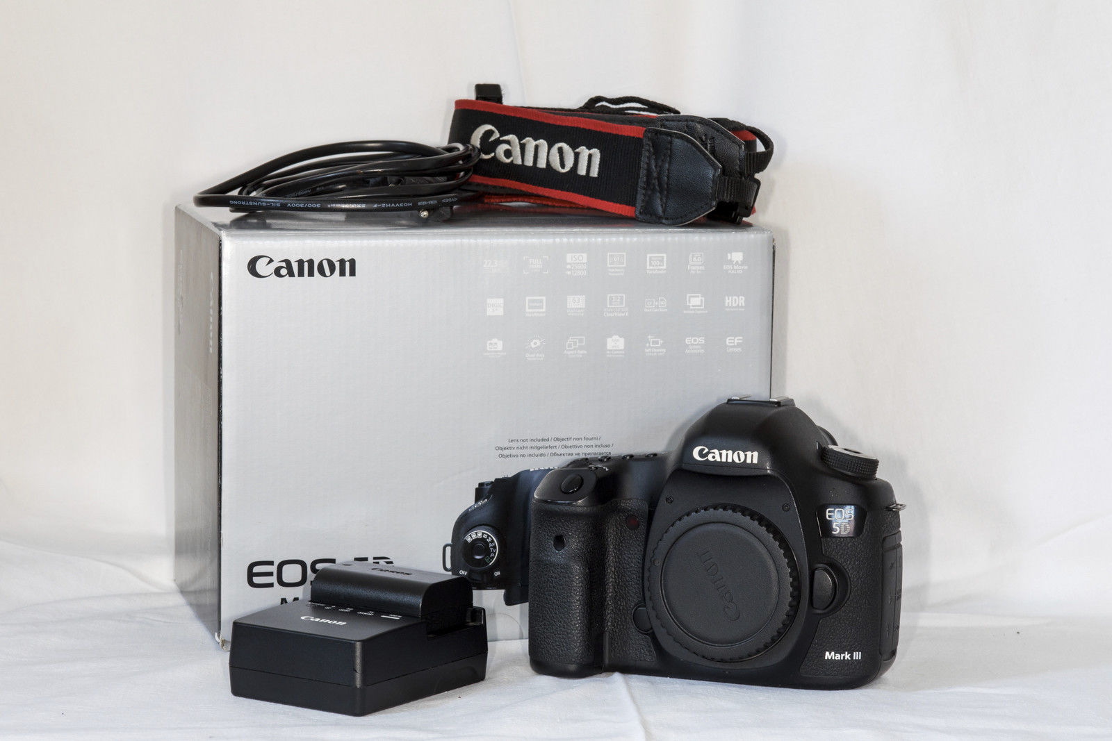 Canon Eos 5d Mark Iii Digital Slr Kamera Gehuse Vollformat Mit 6d Kit 24 105mm F 35 56 Is Stm Wifi And Gps 223 Mp