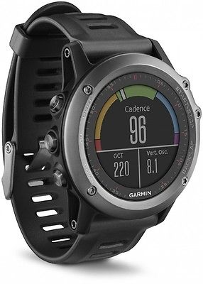 GARMIN FENIX 3 MULTI SPORT SMART WATCH GPS NAVIGATION + SPORT UHR GREY / BLACK
