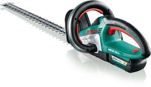 Bosch DIY Akku-Heckenschere AHS 54-20 LI, Akku, Ladegerät, Karton (36 V, Akkuladezeit 45 Min, Schwertlänge: 540 mm, Messerabstand: 20 mm, 3,5 kg)