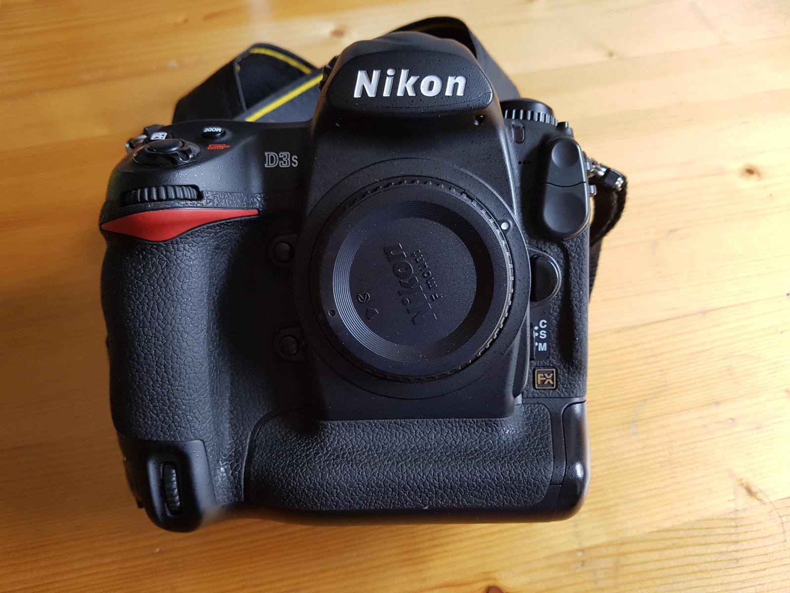 Nikon D3s - Top Zustand - ca. 20.500 Auslösungen