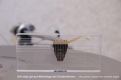 Delta Device Azimuth-Einstellungs Lehre für Tonabnehmer Acryl Justage Schablone