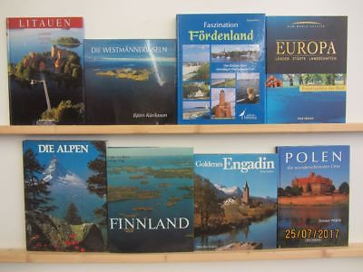 20 Bücher Bildbände Europa europäische Länder europäische Städte