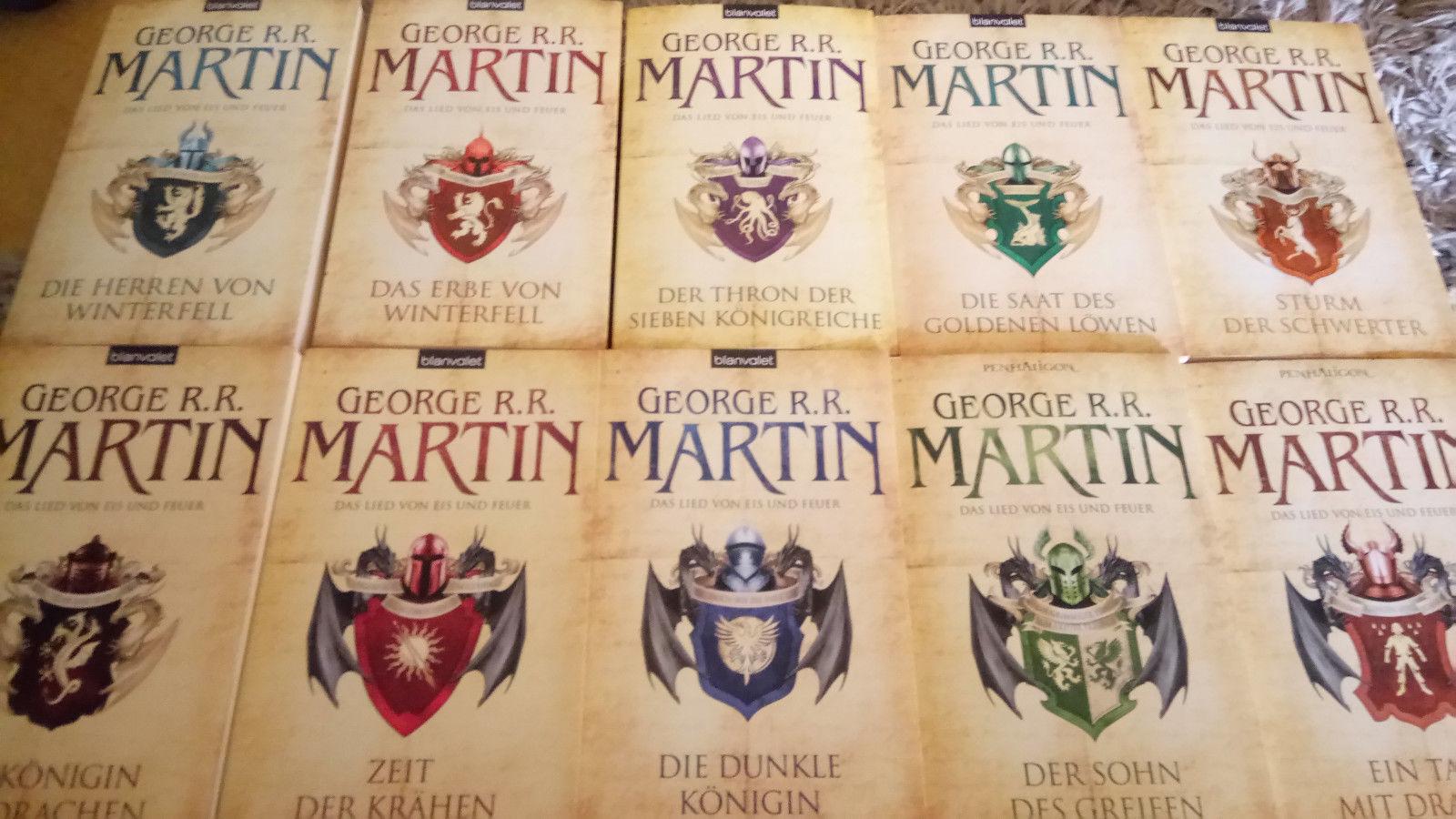 George R.R. Martin - Das Lied von Eis und Feuer  Band 1-10