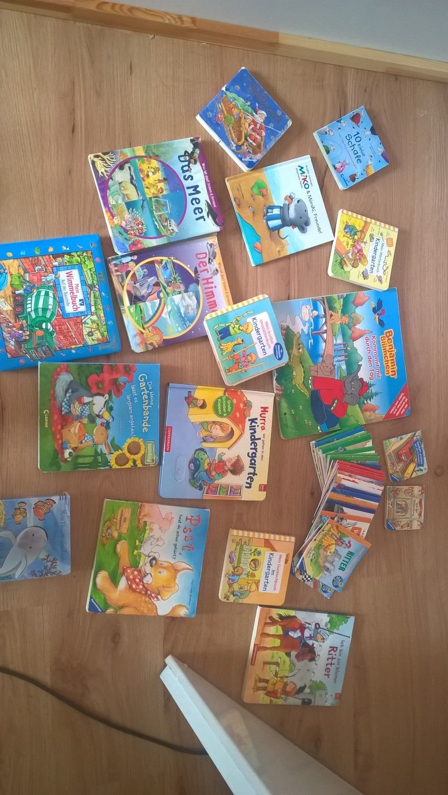 Bücherpaket für Kleinkinder Wissensbücher,Fühlbücher und Geschichte ab 24 Monate