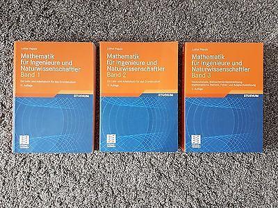 Mathematik für Ingenieure und Naturwissenschaftler, Band 1,2,3, 1-3, Papula
