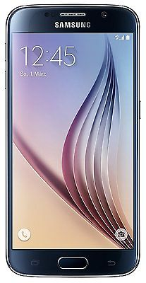 Samsung Galaxy S6 G920F 32GB Schwarz Android Smartphone Handy Neu & OVP