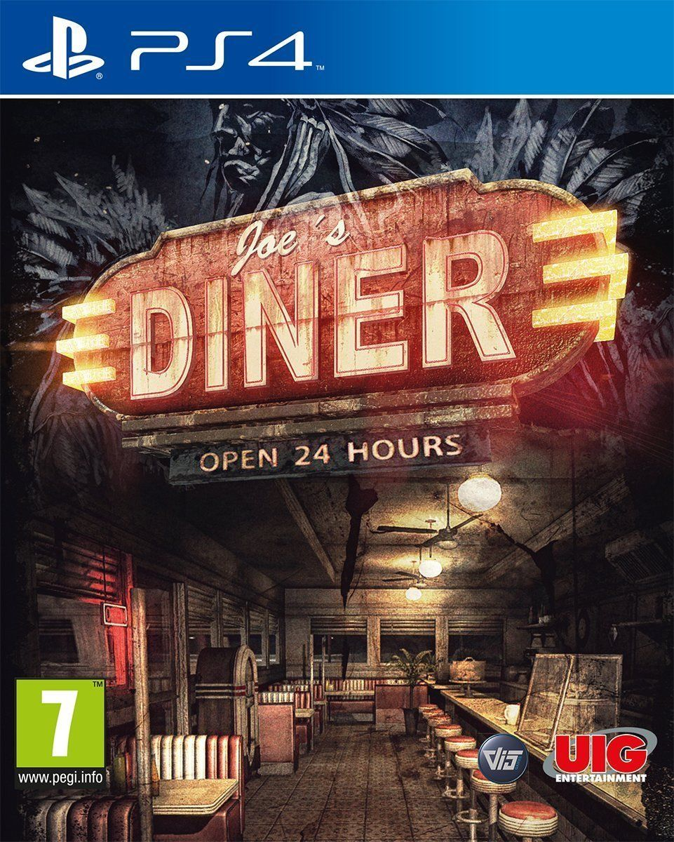 Joe's Diner (PS4 Playstation 4 Video Game) *NEW/SEALED* FREE P&P