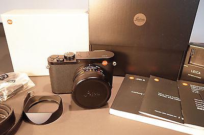Leica Q Typ 116, schwarz, neuwertig, mit Leica Garantie