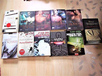 Bücherpaket 11  Bücher - Taschenbücher  Krimi und Thriller