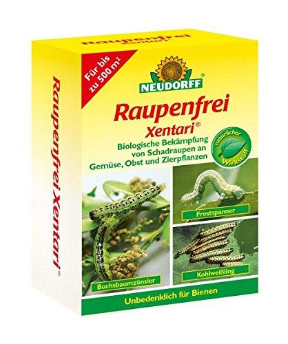 Neudorff Raupenfrei Xentari 50g gegen Buchsbaumzünsler an Buchsbäumen Value Pack