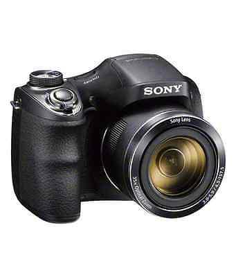 A - Sony Cyber-shot H300 Digital Bridge Camera FREE CASE