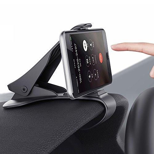 Handyhalterung Auto Kratzschutz Handyhalter Auto Armaturenbrett Universal Winkel einstellbarer rutschfest einfach Bestätigung Autohalterung Phone Halter für alle Smartphones mit 3.0
