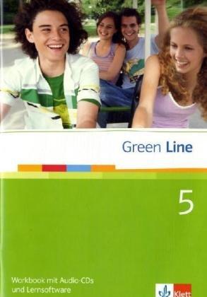 Green Line / Workbook mit Audio-CDs und Lernsoftware zu Band 5 (9. Klasse)