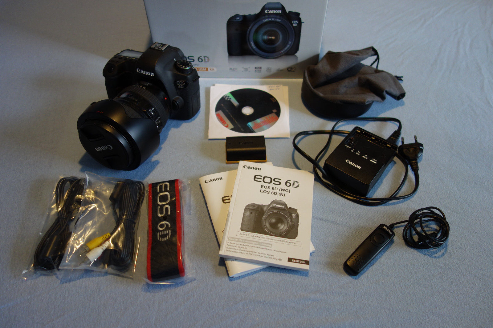 Canon EOS 6D DSLR mit EF 24-105mm/f4 L IS USM