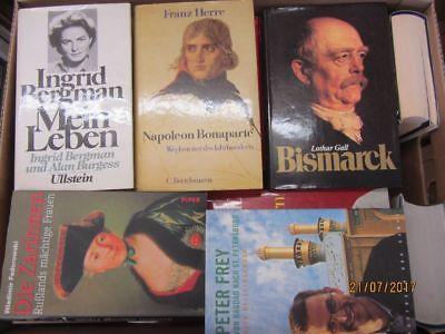 34 Bücher Biografie Biographie Memoiren Autobiografie Lebenserinnerung Paket 3
