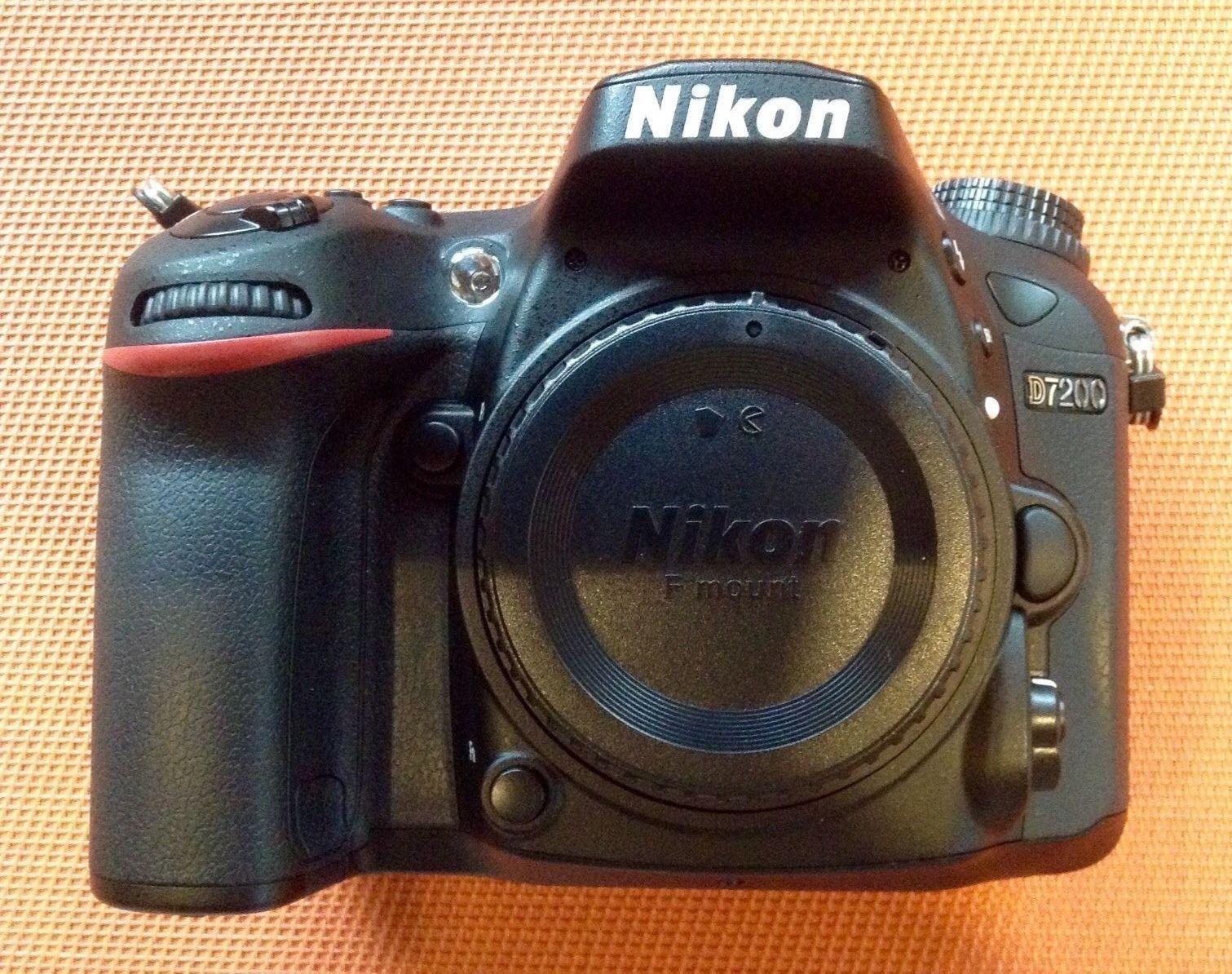 Nikon D7200 Body, neuwertig, nur 3200 Auslösungen