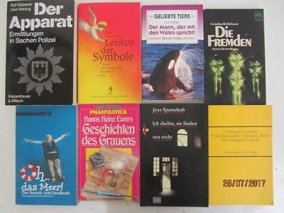 150 Bücher Taschenbücher verschiedene Verlage