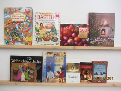 55 Bücher Weihnachten Advent Christfest weihnachtliche Bücher Weihnachtsbasteln