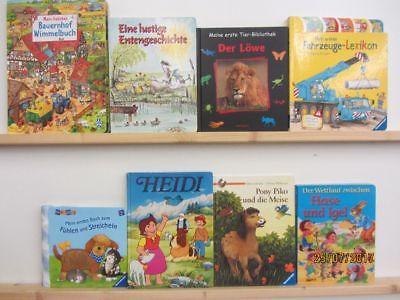 43 Bücher Kinderbücher Kleinkinderbücher Kindergartenbücher Bilderbücher Paket 1