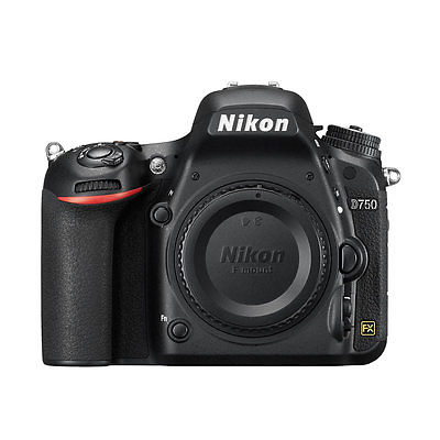 Nikon D750 24.3MP FX DSLR Camera Body Multi Language Gift Ship From EU