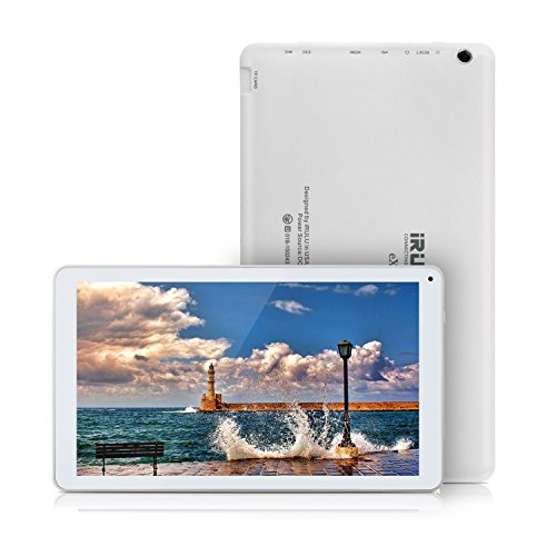 iRULU eXpro2 Plus Phablet (X2 Plus) 10.1 Zoll Android 5.1 Tablet PC Octa-Core 1.8GHz 1024 * 600 Display1GB RAM 16GB ROM Dual Kameras,Wifi Bluetooth Mini HDMI Full HD GMS Certified (Weiß)